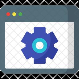 Website, Optimizer, Gear, Setting, Webpage Icon