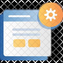 Website Setting Icon