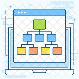 Website Sitemap Icon