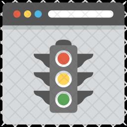 Website status Icon
