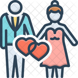 Wedding Icon Of Colored Outline Style Available In Svg Png Eps Ai Icon Fonts