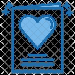 Wedding card Icon