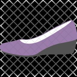 Wedge Shoe Icon