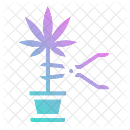 Weed cutting Icon