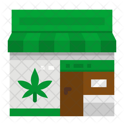 Weed shop Icon