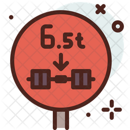 Weight Traction Icon