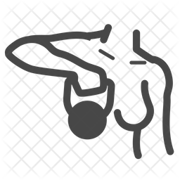 Weight Training Icon