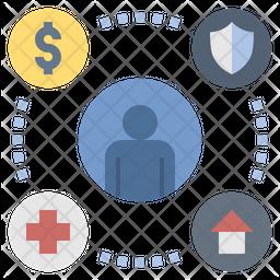 Welfare Flat Icon