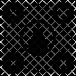 Welfare Glyph Icon