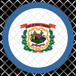 West Flag Icon