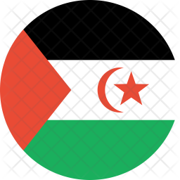 Western sahara sahrawi arab Icon png