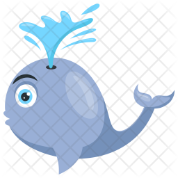 Whale Fish Icon png