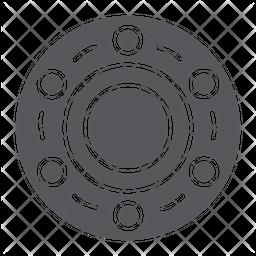 Wheel bearing Icon