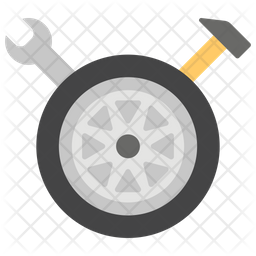 Wheel Detailing Icon