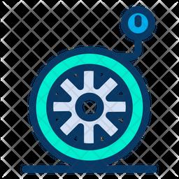 Wheel Pressure Icon