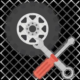 Wheel Repair Icon