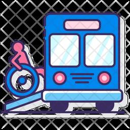 Wheelchair Accessible Bus Icon