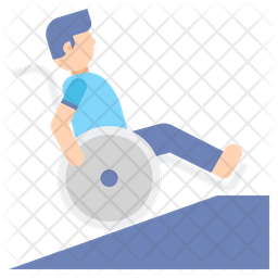 Wheelchair Ramp Icon