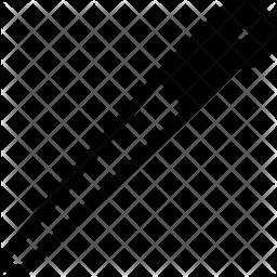 Whetstone rod Glyph Icon