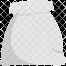 White Sack Icon