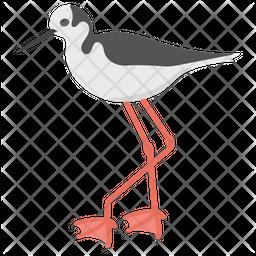 White Stork Icon
