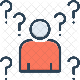 Whois Colored Outline Icon