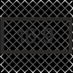 Wide screen Icon