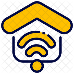Wifi Colored Outline Icon