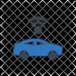 Wifi Car Icon