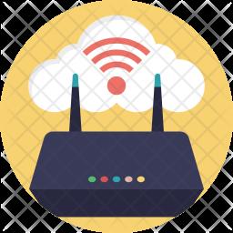Wifi Cloud Icon