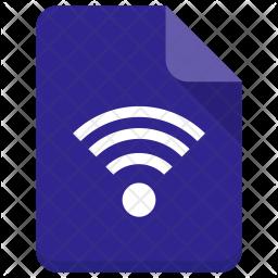 Wifi file Icon