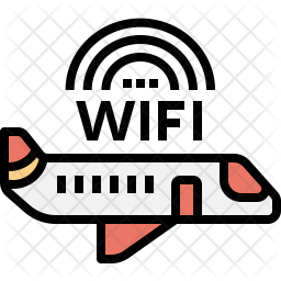 Wifi in Airplane Icon