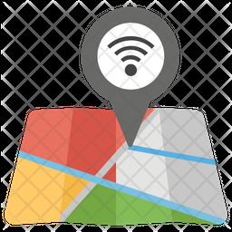 Wifi Location Icon