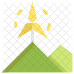 Wind Flat Icon