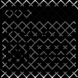 Window Tabs Icon