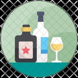 Wine Bottles Icon