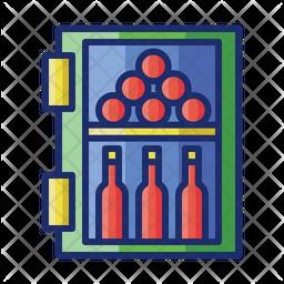 Wine Cooler Icon