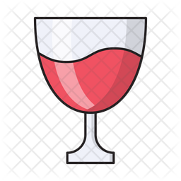 Wine Glass Icon Of Colored Outline Style Available In Svg Png Eps Ai Icon Fonts