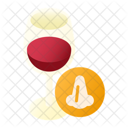 Wine Tasting Smell Icon