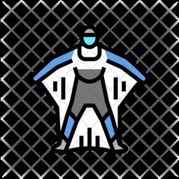 Wingsuit Active Icon