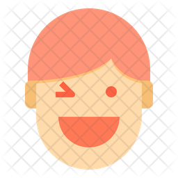 Winking Emoji Icon