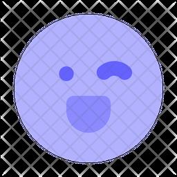 Winking-face Emoji Icon