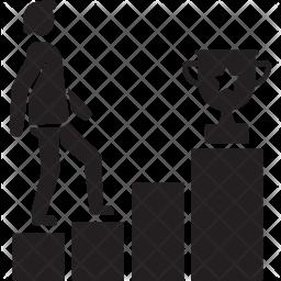 Winner Glyph Icon
