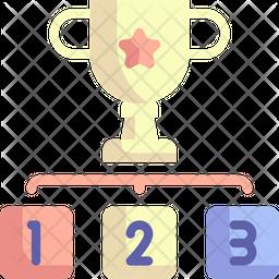 Winner Flat Icon
