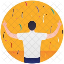 Winner Celebration Icon