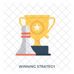 Winning Strategy Icon