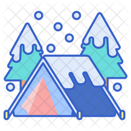 Winter Camp Icon