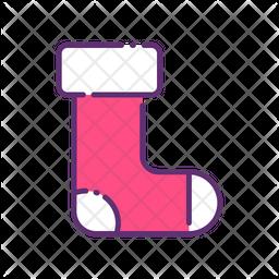 Winter Socks Icon