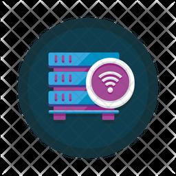 Wireless Database Icon