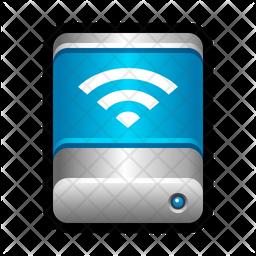 Wireless drive Icon